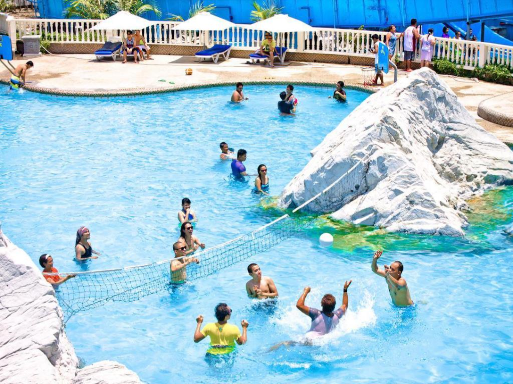 Best price on white rock waterpark and beach hotel in Beach resort with swimming pool in zambales