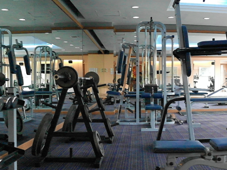 Fitness center Grand Palace Hotel