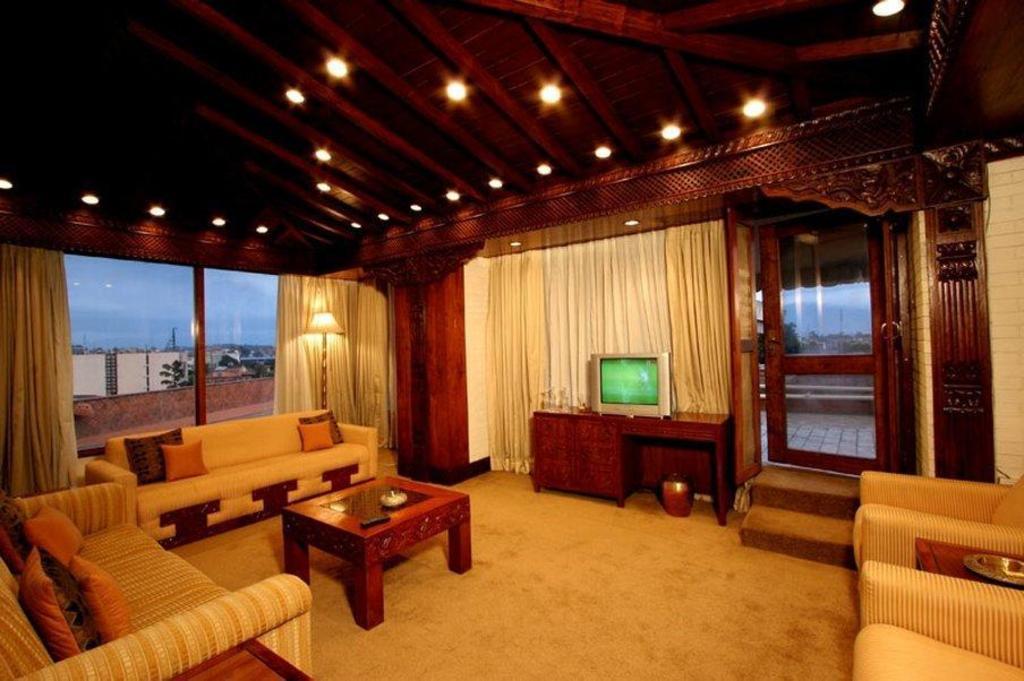 Lobby Hotel Yak Yeti