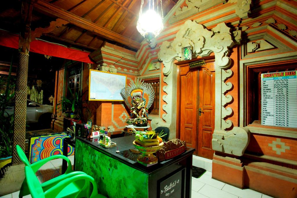Lobby Budhas Guest House