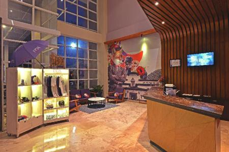Lobby FOX HARRIS Hotel City Center Bandung