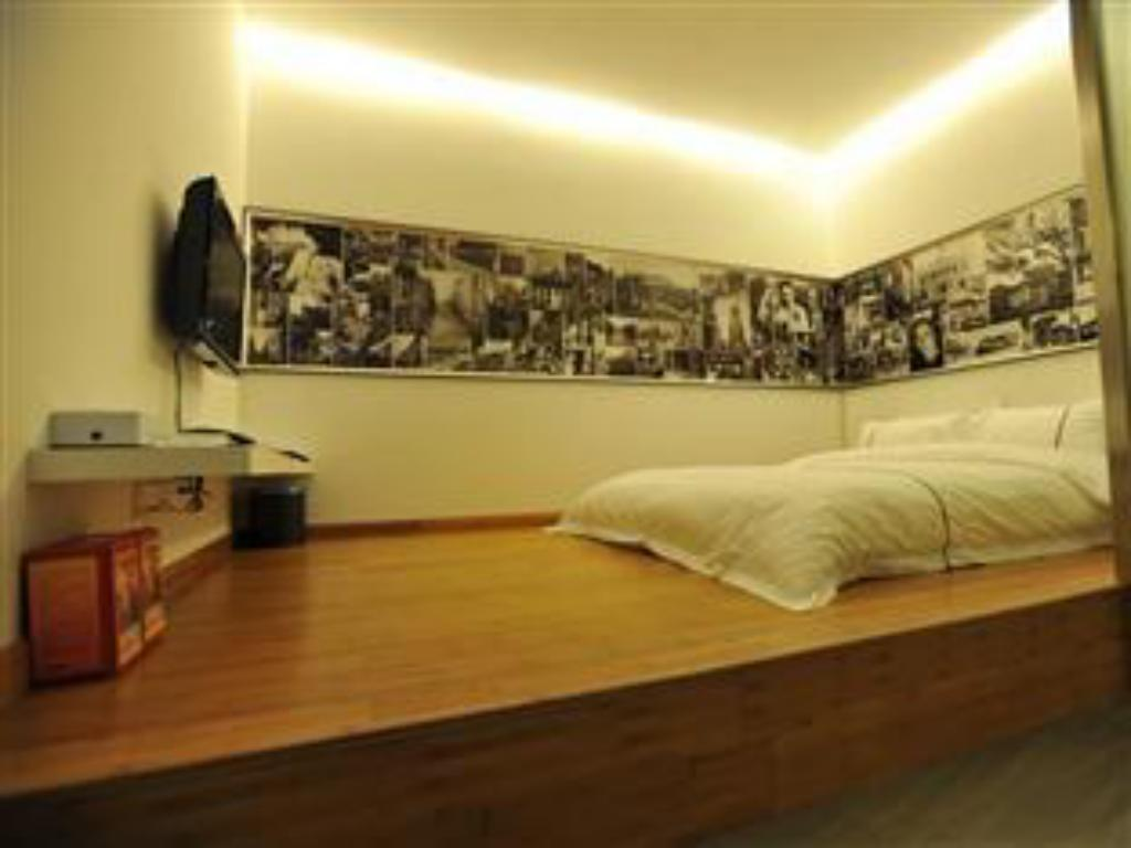 Japanese Style Room with Queen Bed, without Window - Guestroom Spring Time Hotel Tianhe