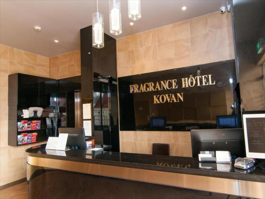 ロビー Fragrance Hotel - Kovan (SG Clean Certified)