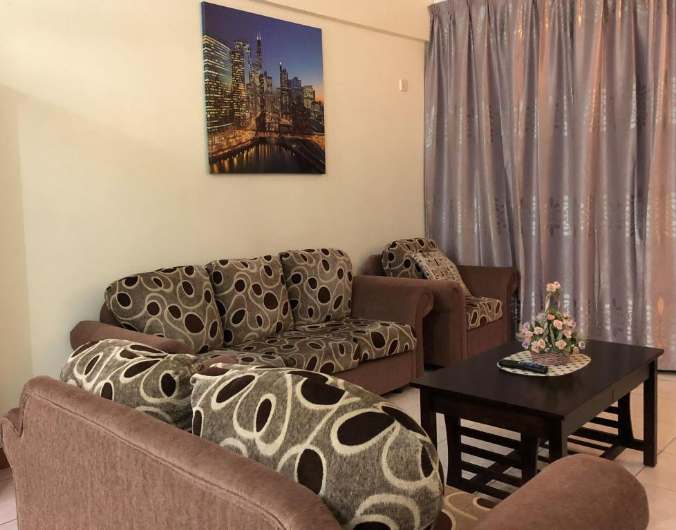 Hotellet indefra BayView Vacation Home @ Likas Square Apartment