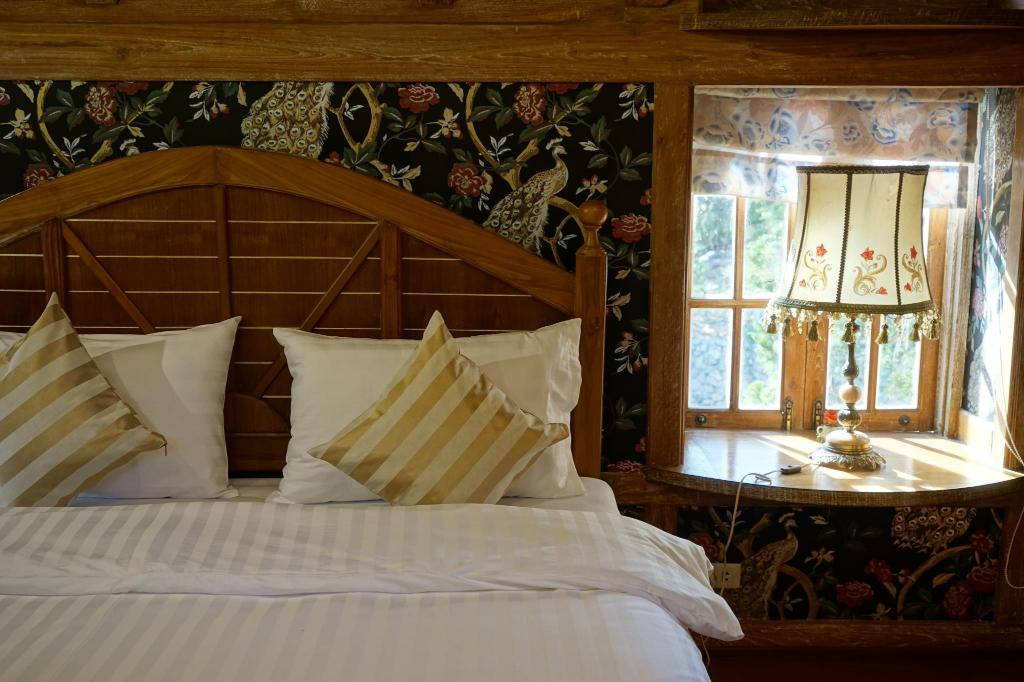 Double Room with Garden View - Bed