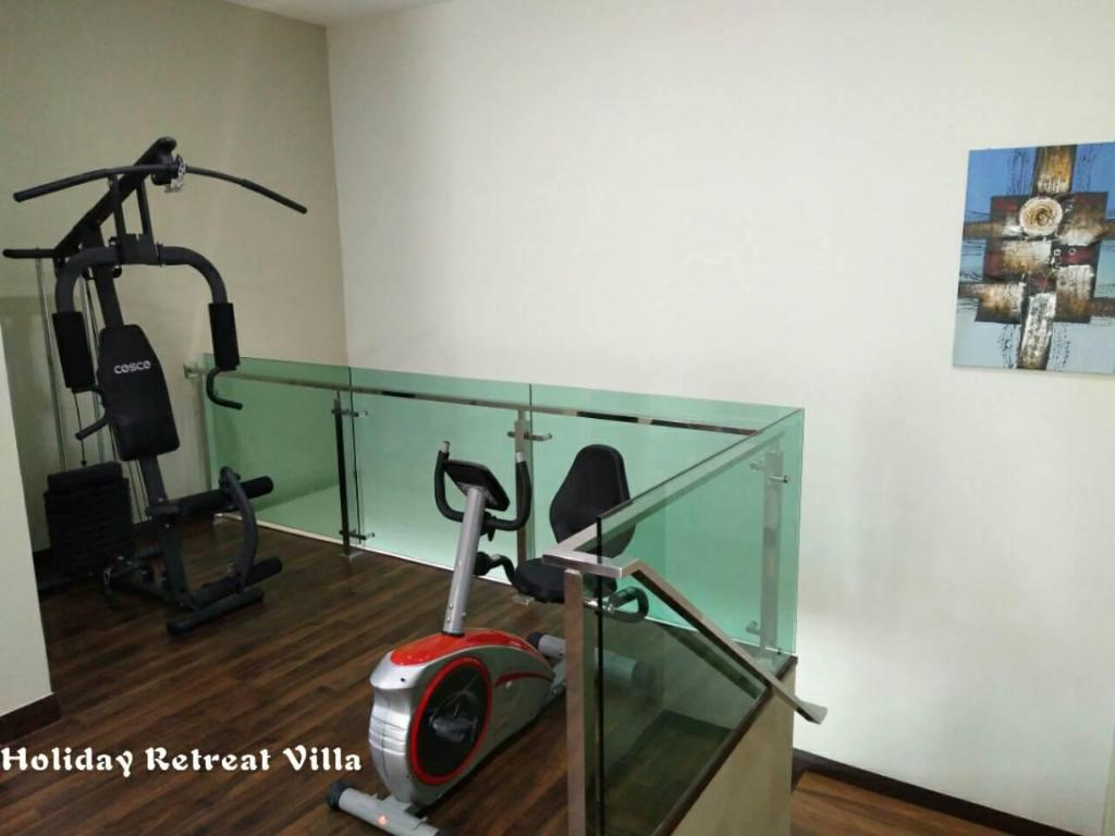 Hotellet indefra Holiday Retreat Villa ( HRV)