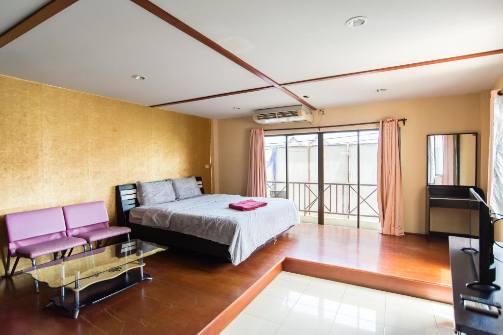 Værelse THE BED HOTEL PATTAYA (THETA Room)