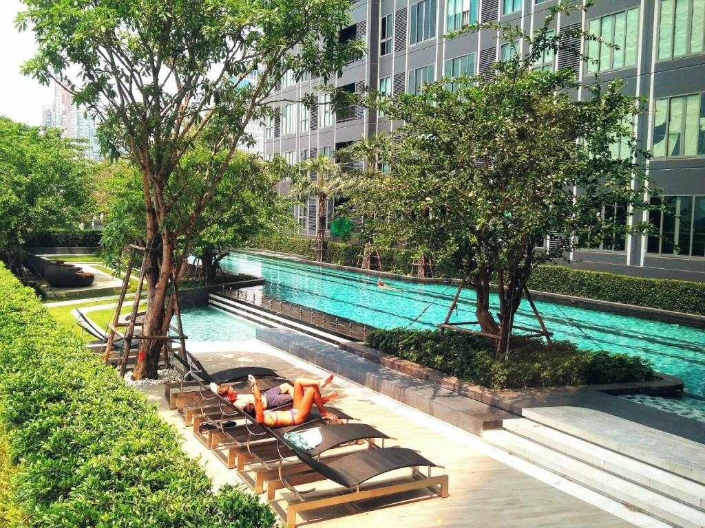 Sukhumvit New Room BTS Bangna City view Max 3