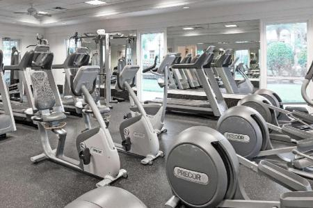 Fitness center Wyndham Orlando Resort International Drive