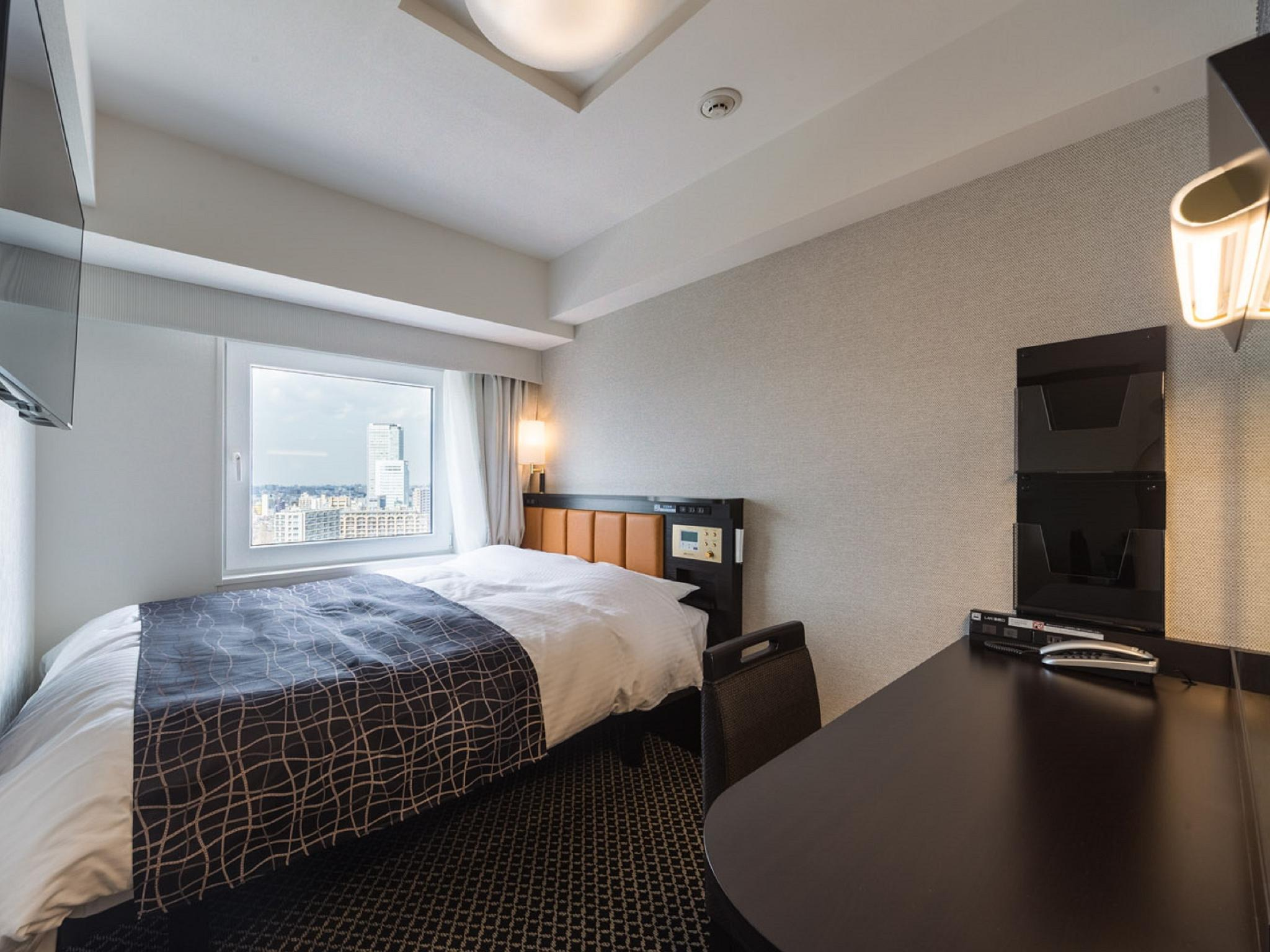 High Floor City View Small Double Room - Smoking