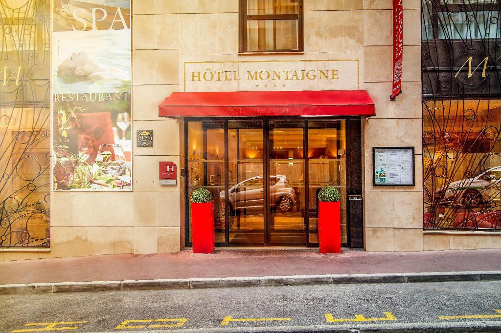Hotel Montaigne Spa In Cannes Room Deals Photos Reviews