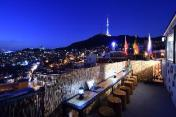 Namsan Photo Park Rooftop full house