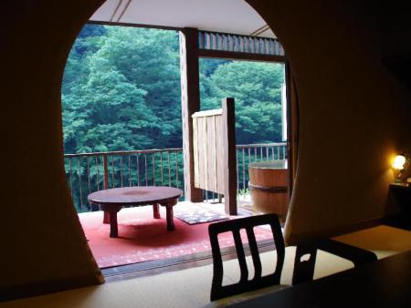 Deluxe Japanese Style Room with Open-Air Bath Hakone Shiunso