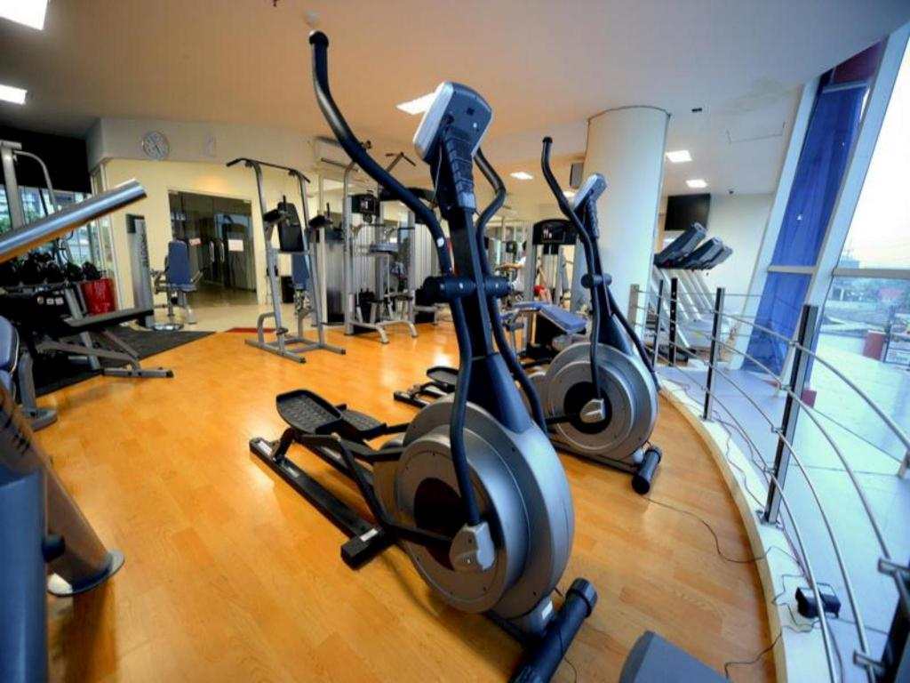 fitness centrum High Point Serviced Apartment