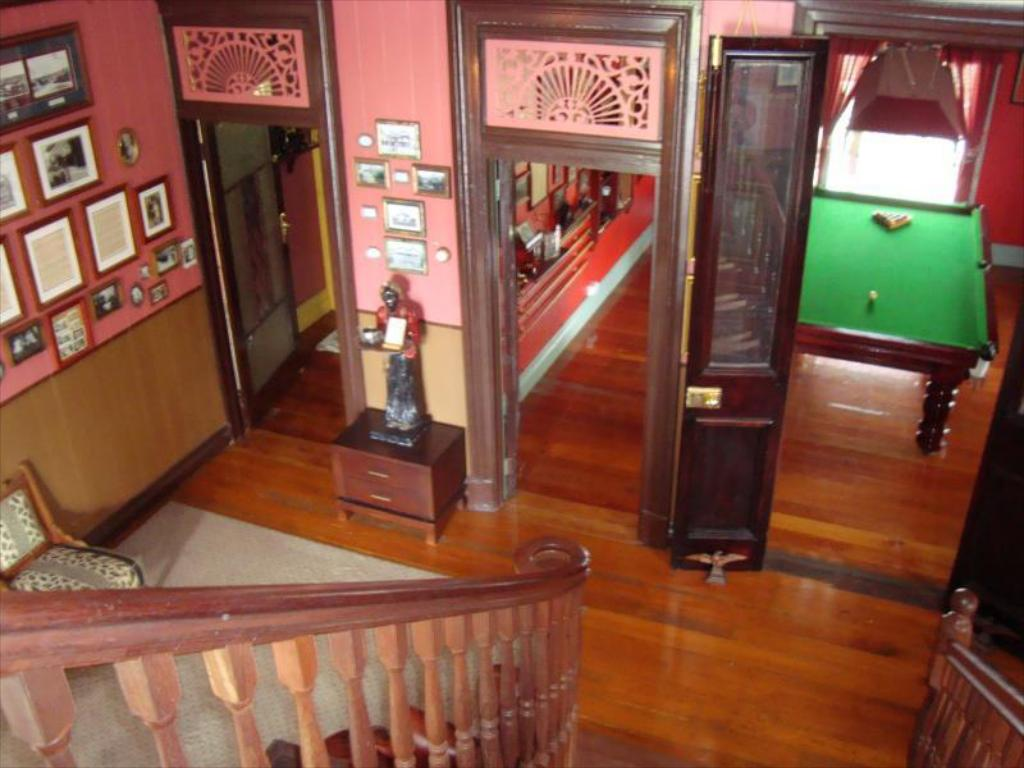 Interior view Franklin Villa