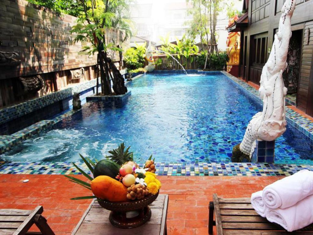 Swimming pool Singha Montra Lanna Boutique Style Hotel