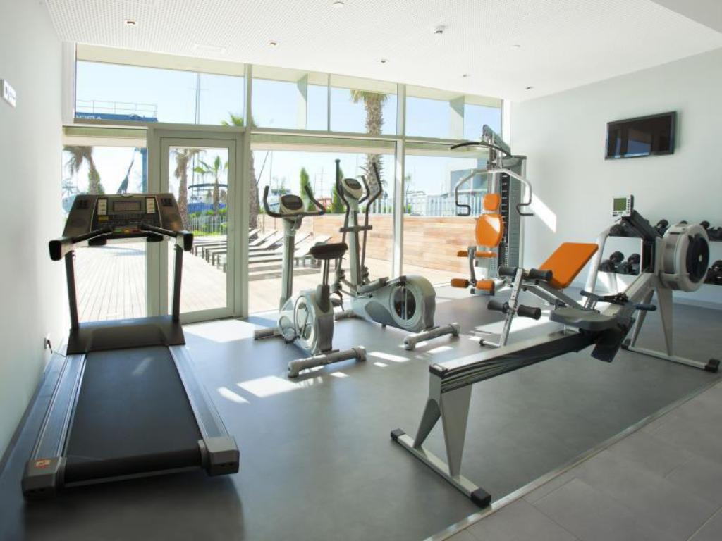 Fitness center Hotel Atenea Port Barcelona Mataro
