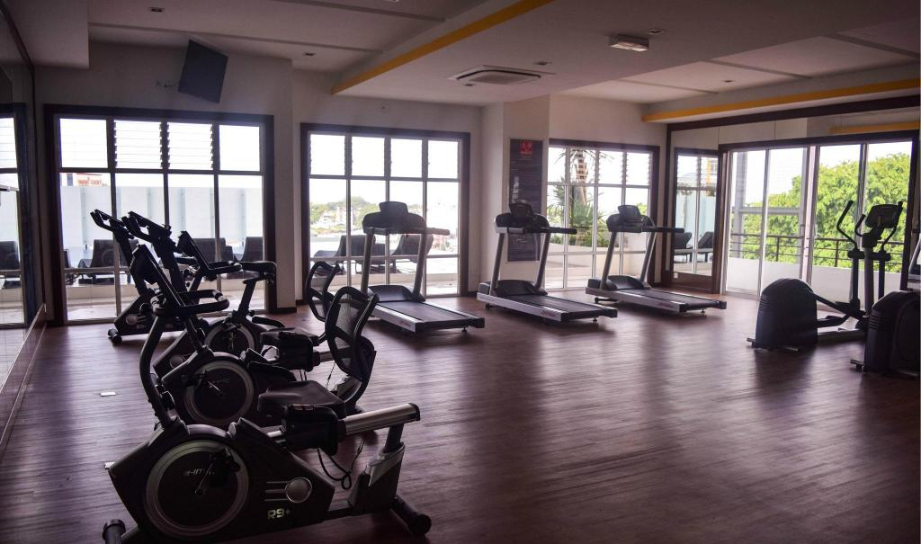 fitnesscenter Happy Feet Vacation Home