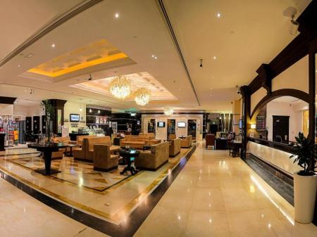 Lobby Holiday Inn Bur Dubai - Embassy District