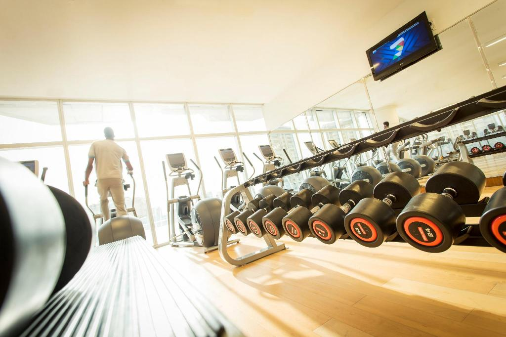 Fitness center The Lagos Continental Hotel