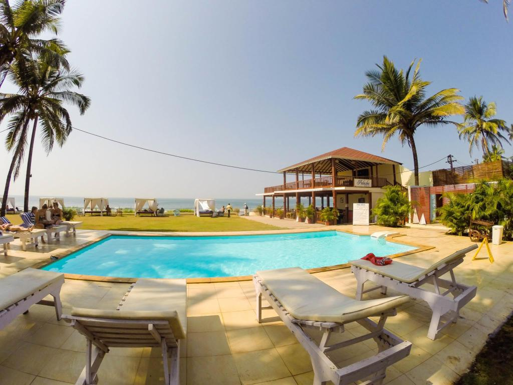 La Cabana Beach and Spa Resort in Goa  Room Deals Photos