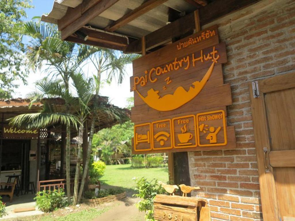 Entrance Hotel Pai Country Hut