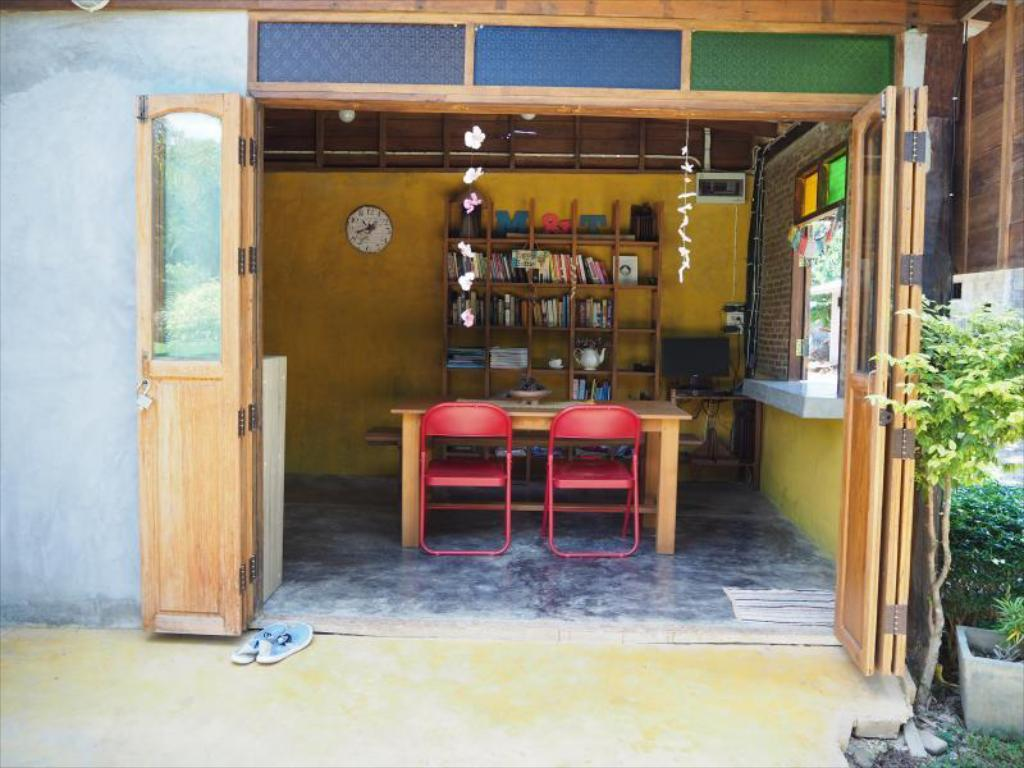 Interior view Hotel Pai Country Hut