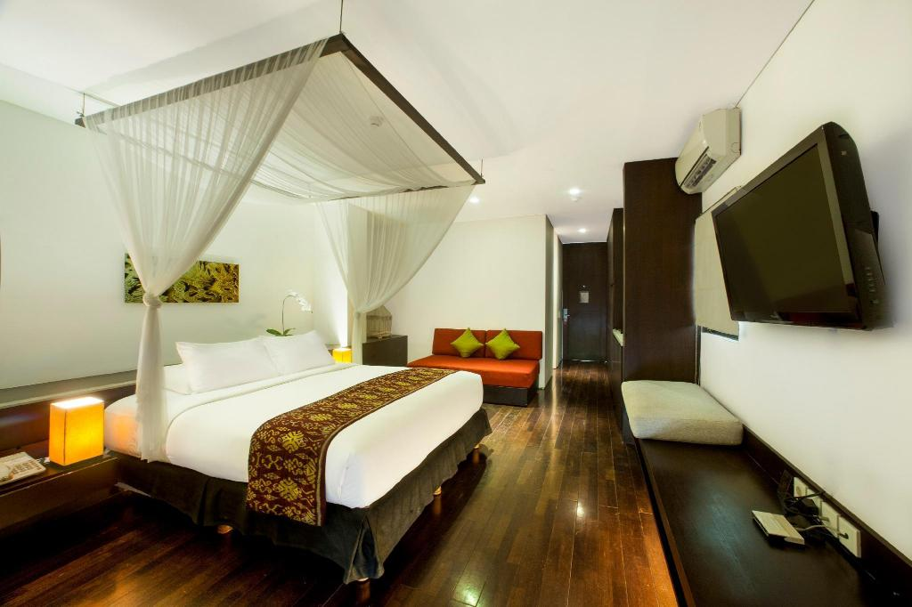 Pool View Studio - Room plan Taum Resort Bali