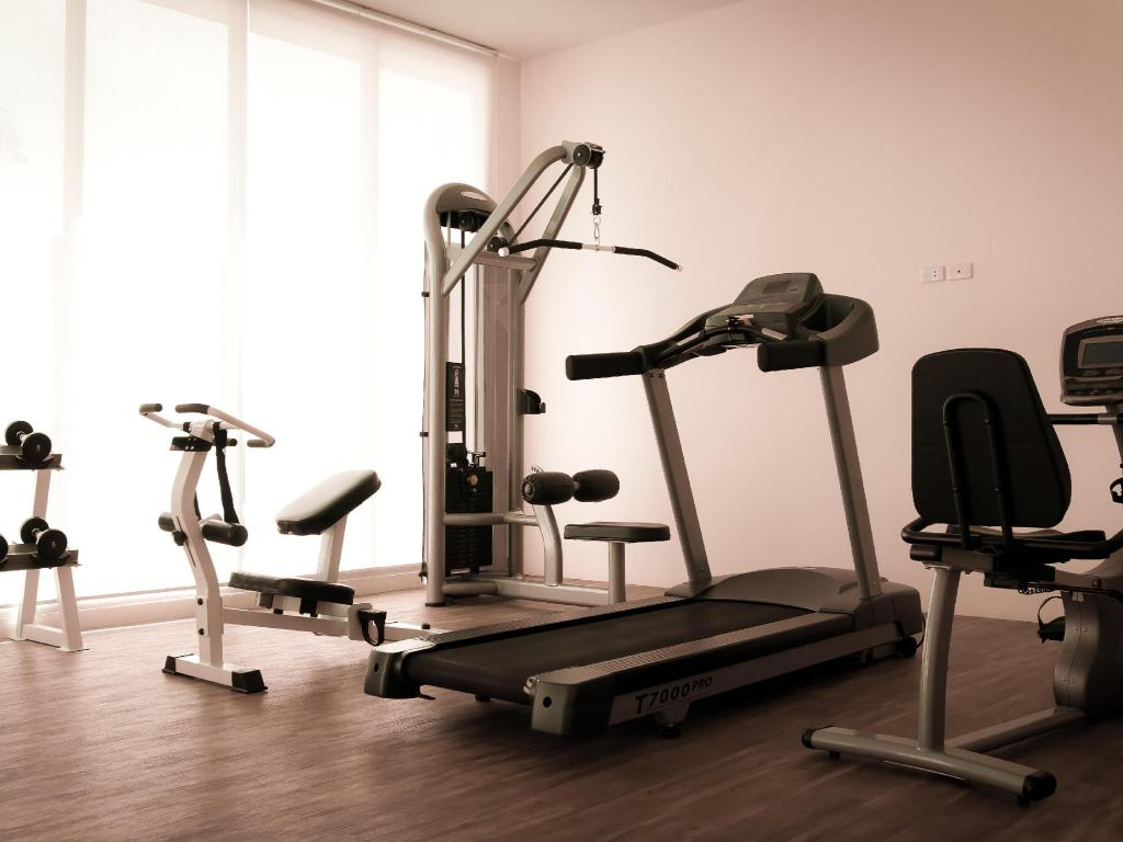 Fitness center Phavina Serviced Residence Rayong