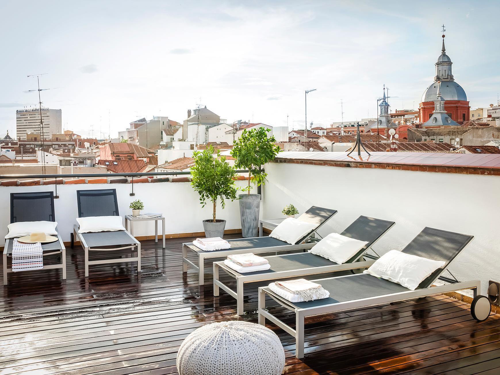 Outside Seating Area. Eric Vökel Boutique Apartments   Madrid Suites