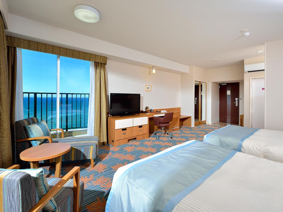 海景房(兩床) - 禁菸 (Premier Ocean View Room with Twin Bed - Non-Smoking)