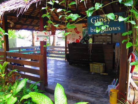 Exterior view Gipsy 2 Bungalows