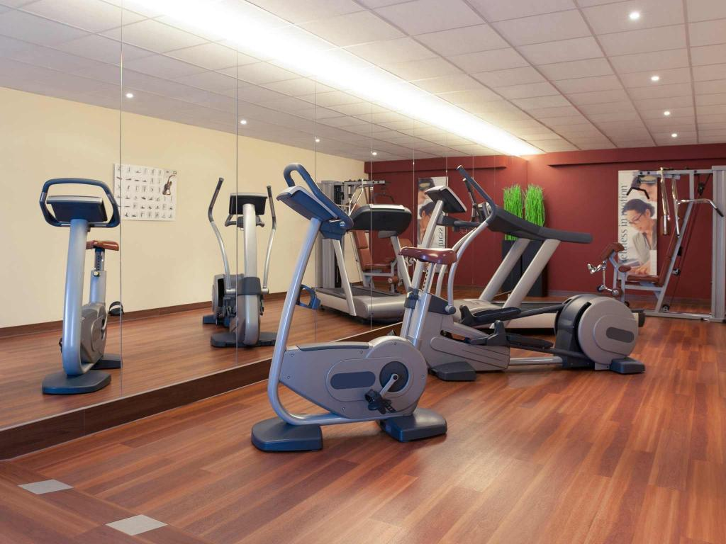Fitness center Hotel Mercure Brussels Airport