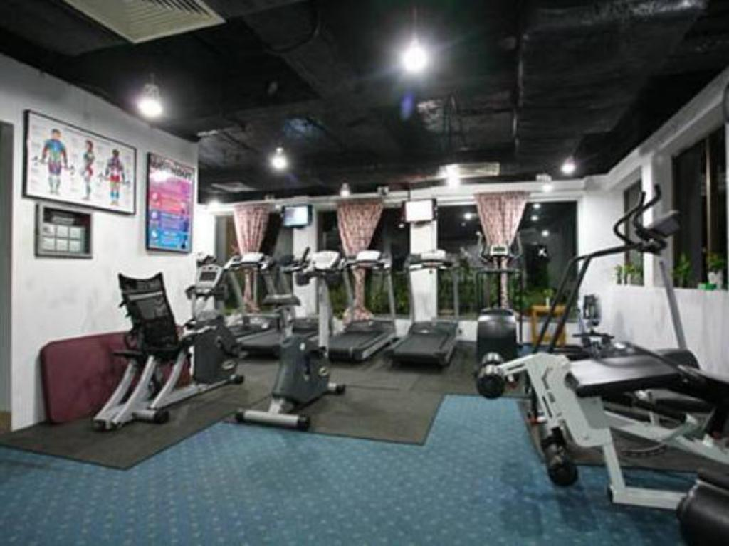 Fitness center The Peninsula Chittagong Hotel
