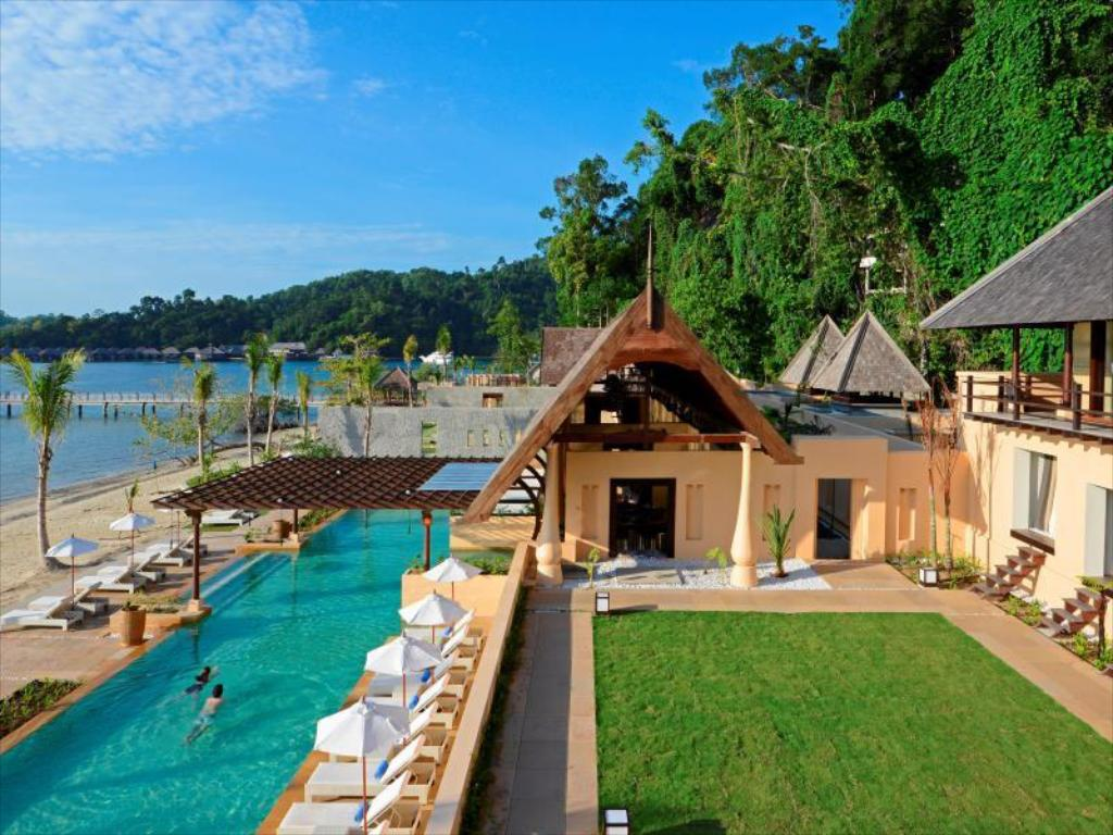 泳池(室外) 加雅島度假村 (Gaya Island Resort)