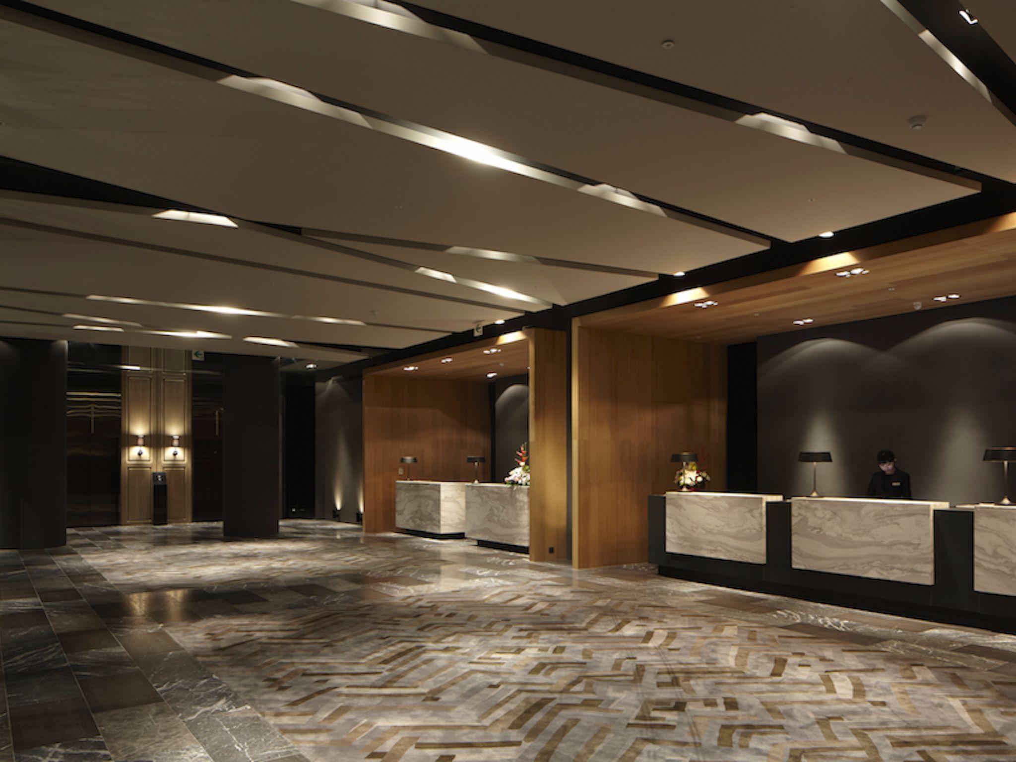 Hotel Ceiling False Designs For Lobby