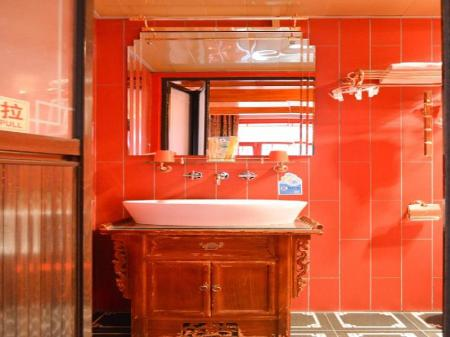 Bathroom Tujia Sweetome Vacation Hotel Beijing Hongyunge