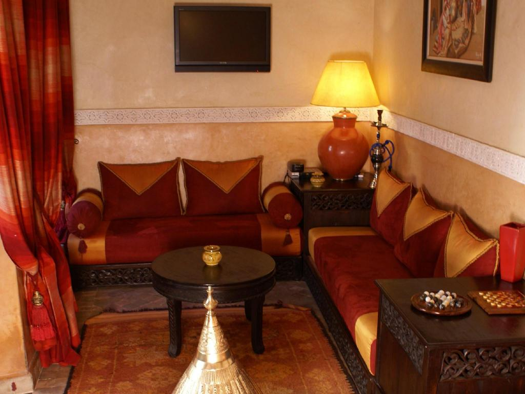 Interior view Riad Nabila