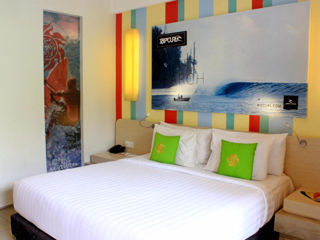 Deluxe Double or Twin - Guestroom Bliss Surfer Bali by Tritama Hospitality