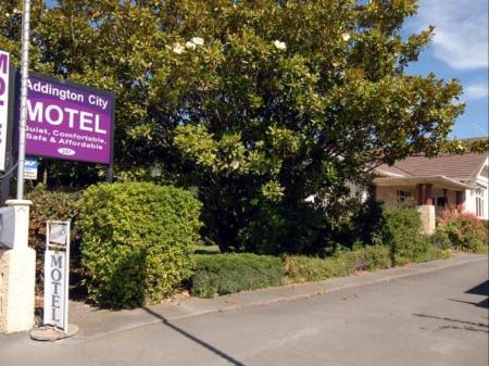 Book From Nz 97 Gt Gt Addington City Motel In Christchurch