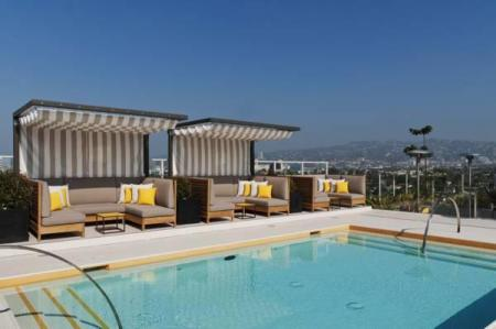 Swimming pool [outdoor] Kimpton Hotel Wilshire