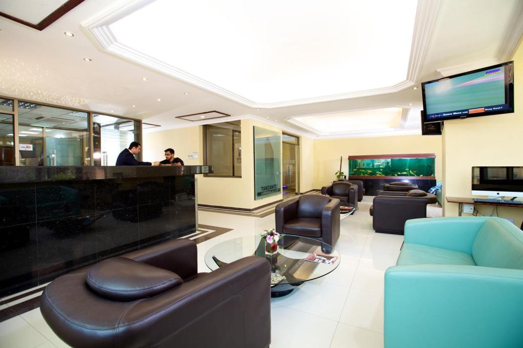 Lobby Tanzanite Executive Suites Hotel