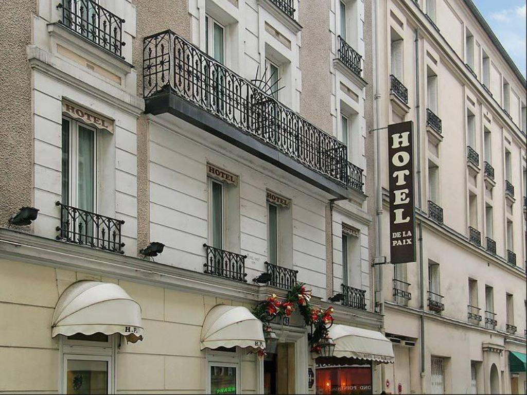 Best price on hotel de la paix in paris reviews for Hotel paris x