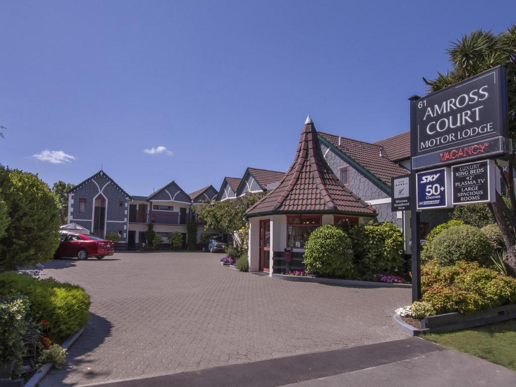 Amross Court Motor Lodge Christchurch Booking Deals