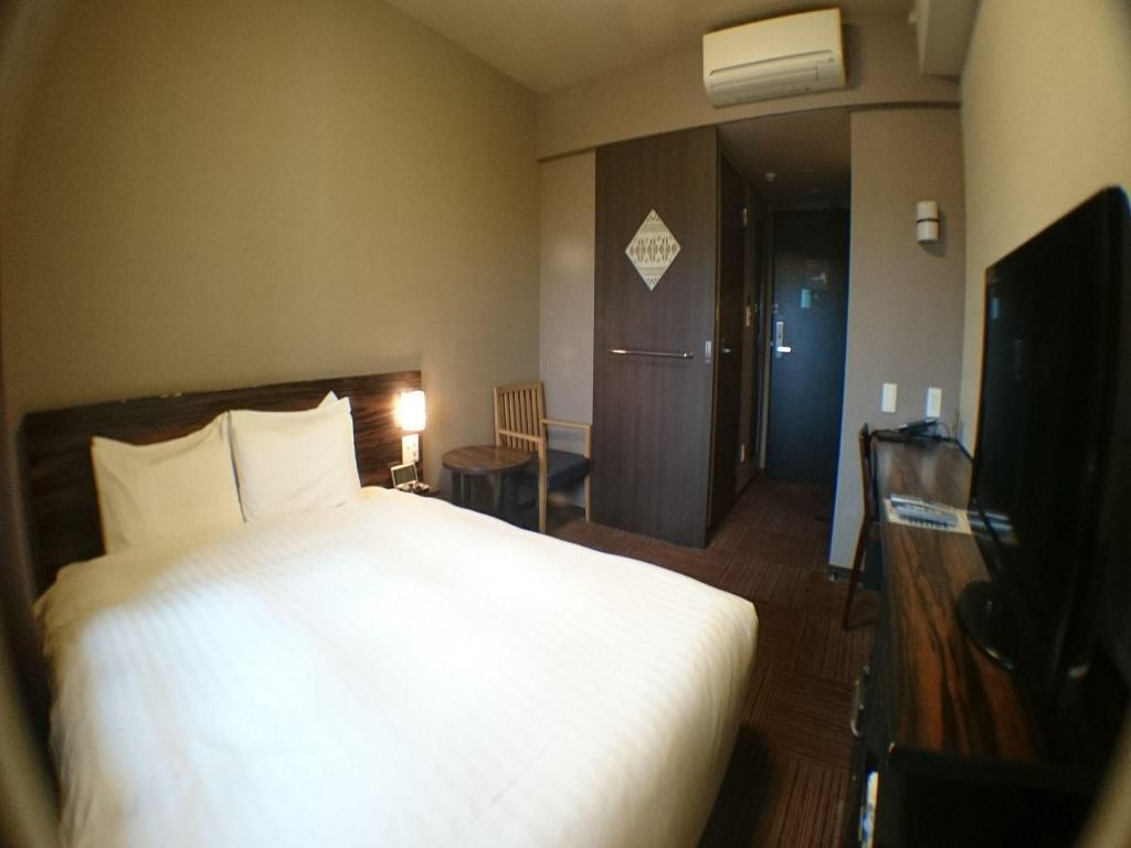Double Room Non-Smoking - Bed Dormy Inn Premium Hakata Canal City Mae Natural Hot Spring