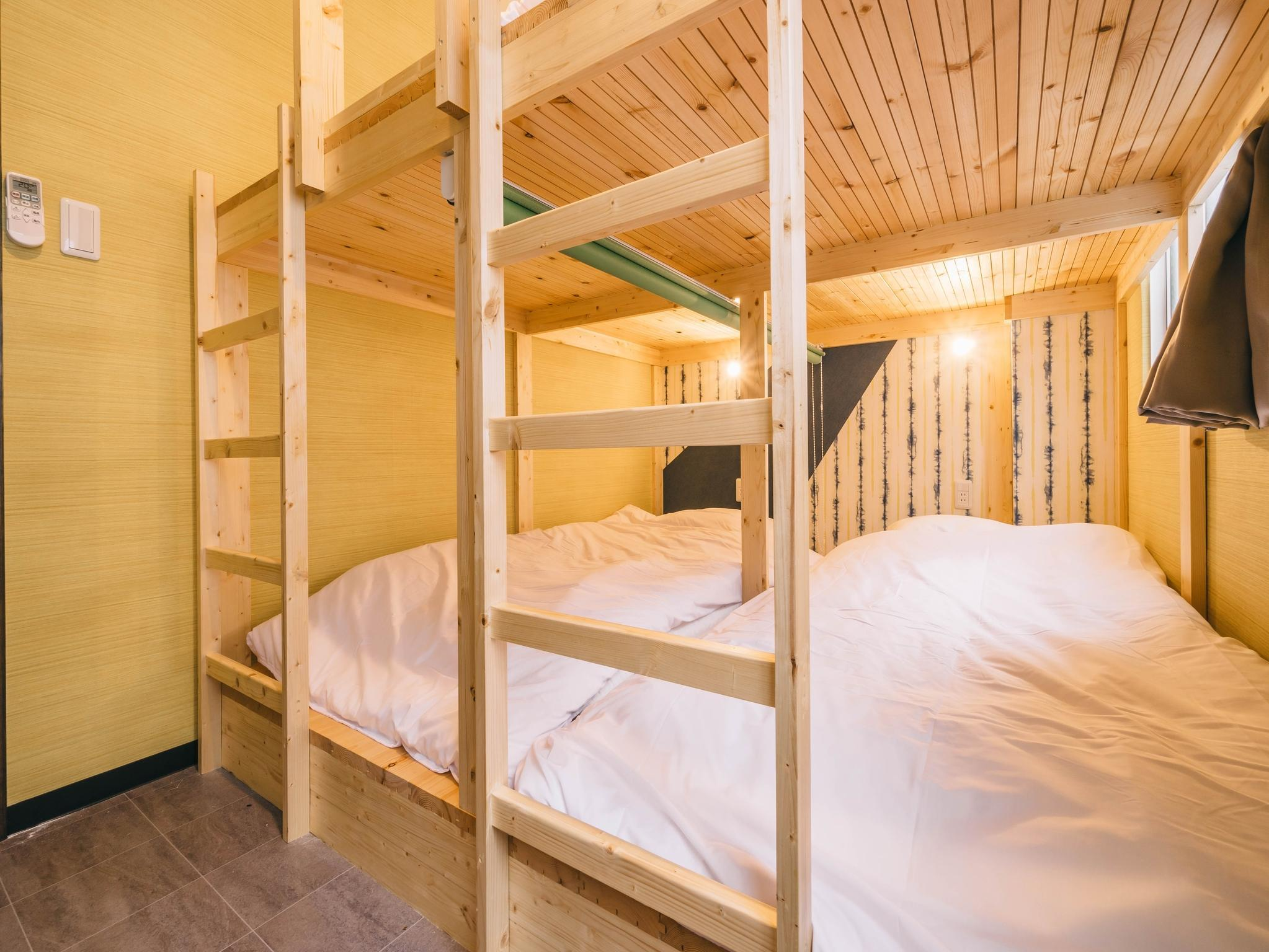 【個室】二段ベッド(4名) (Private Room for 4 People with Bunk Bed)