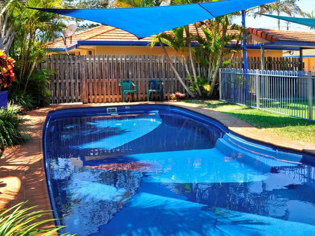 Swimming pool Yamba Twin Pines Motel