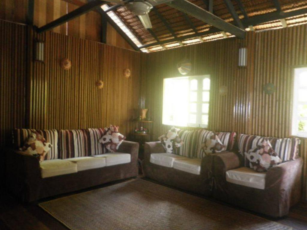 Interior view Borneo Tempurung Seaside Lodge