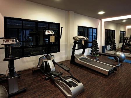 Fitness center Praso Ratchada Private Residence