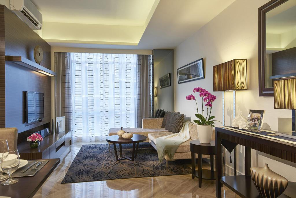 One Bedroom Suite - Guestroom Orchard Scotts Residences by Far East Hospitality